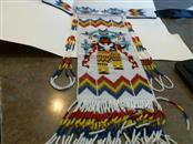 American Indian Blanket/Rug APACHE T NECKLACE